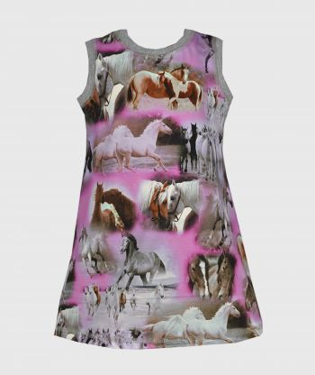 Dress Horses Purple
