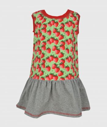 Everyday Swirling Strawberry Dress