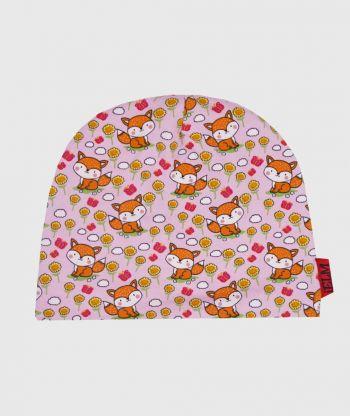 Baggy Hat Foxes Pink