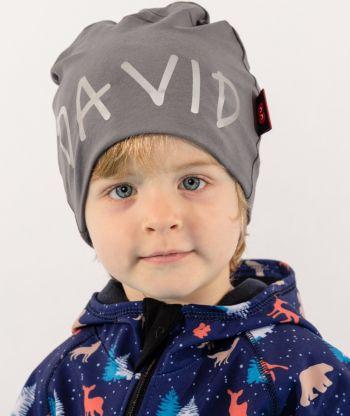 Baggy Hat Reflex Platinum Grey