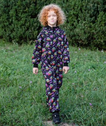 Waterproof Softshell Overall Comfy Aliens Jumpsuit