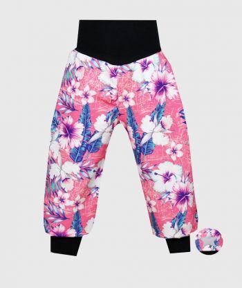 Waterproof Softshell Pants Exotic Flowers