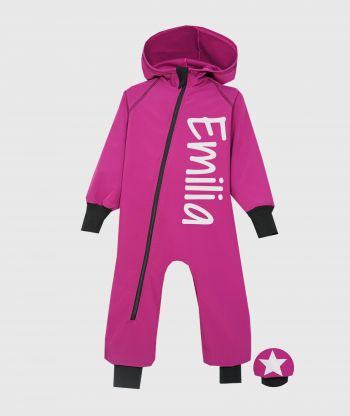 Waterproof Softshell Overall Comfy Malva Jumpsuit