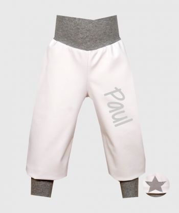 Waterproof Softshell Pants White