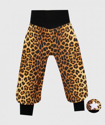 Waterproof Softshell Pants Leopard Print