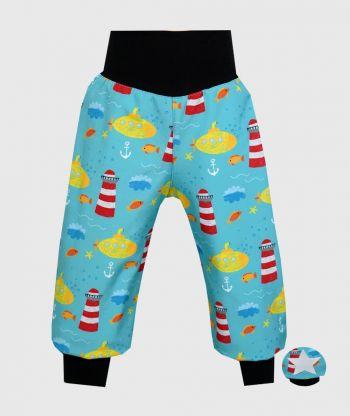 Waterproof Softshell Pants Submarine Drawings