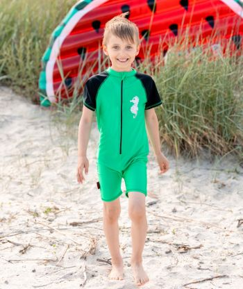 Swimsuit Green/Black