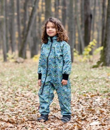 Waterproof Softshell Overall Comfy Tractors Jumpsuit